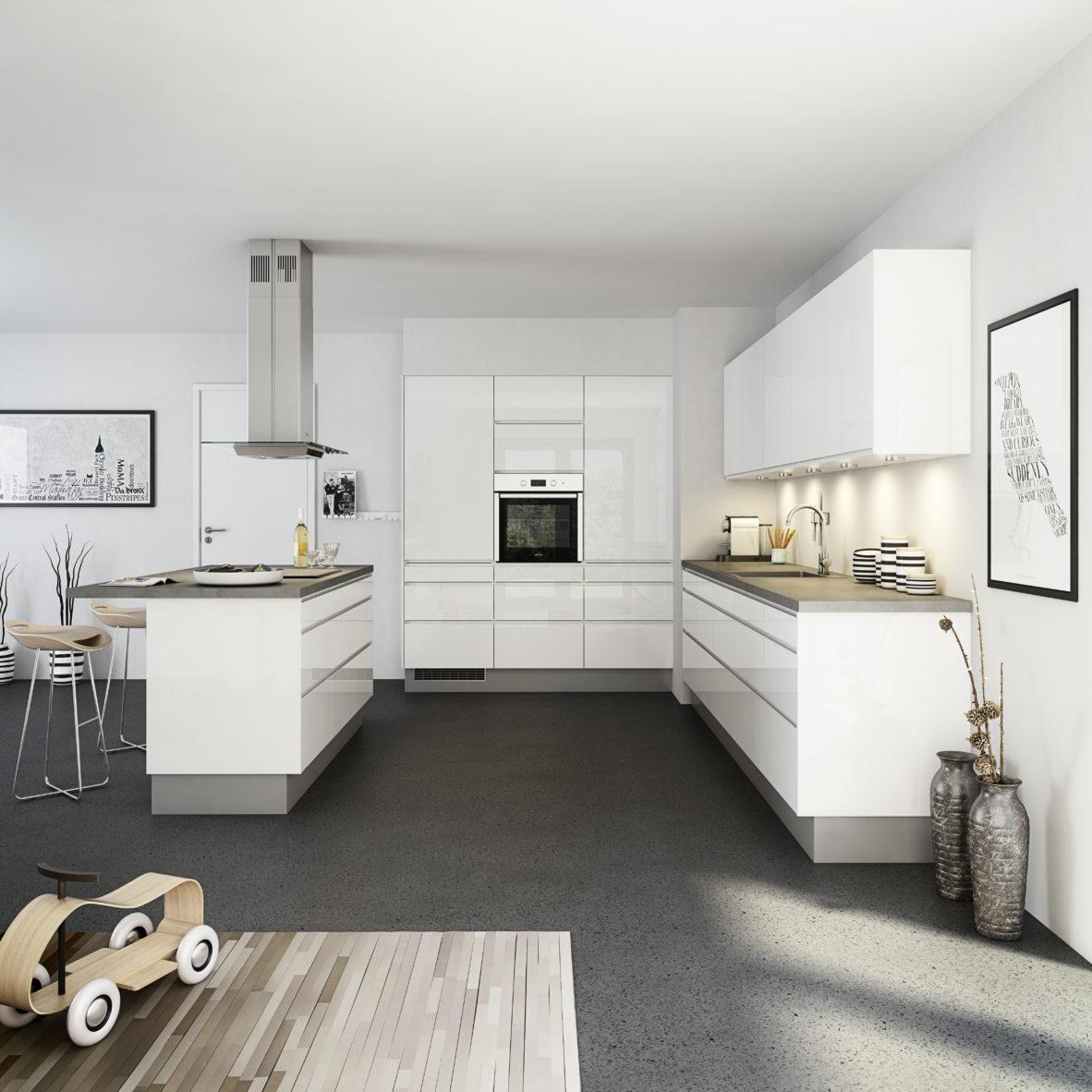 20 - opdateret - køkken venezia højglans