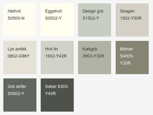 farger ingefær