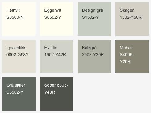 kanel farger