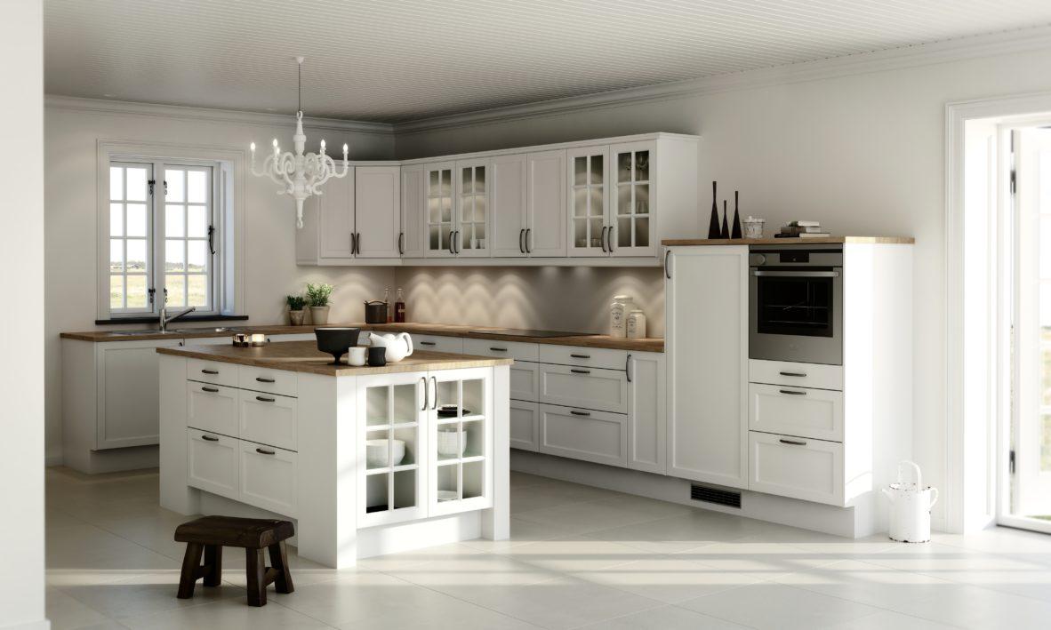 køkken nordic hvid