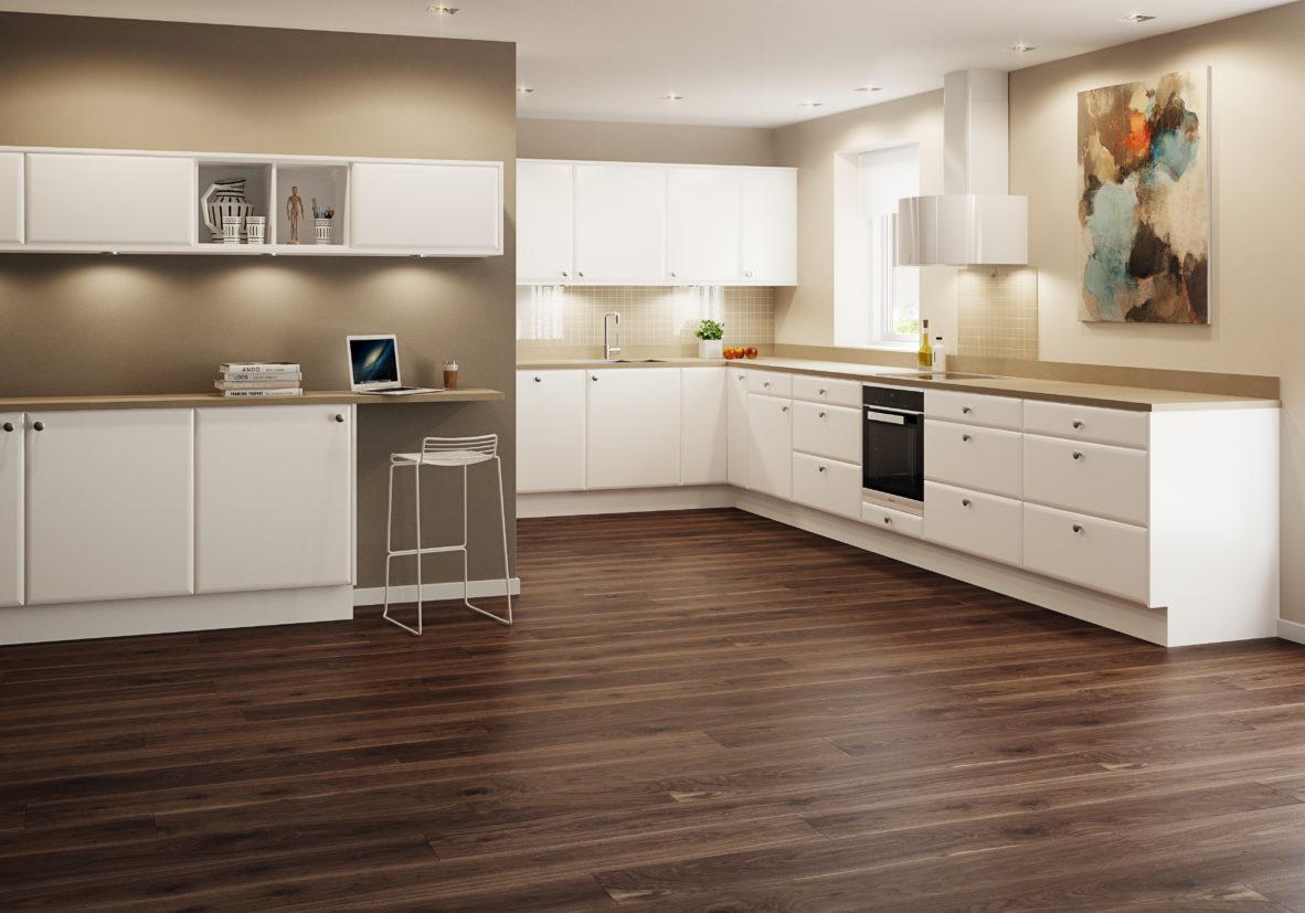 Bilde av kjøkkenet Ceres fra Huseby Agil serien