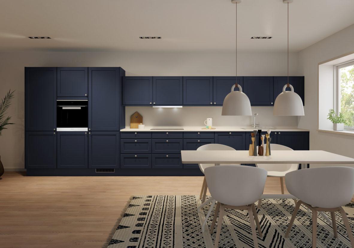 Bilde av Eris kjøkken, en modell i Husebys Signatur-serie