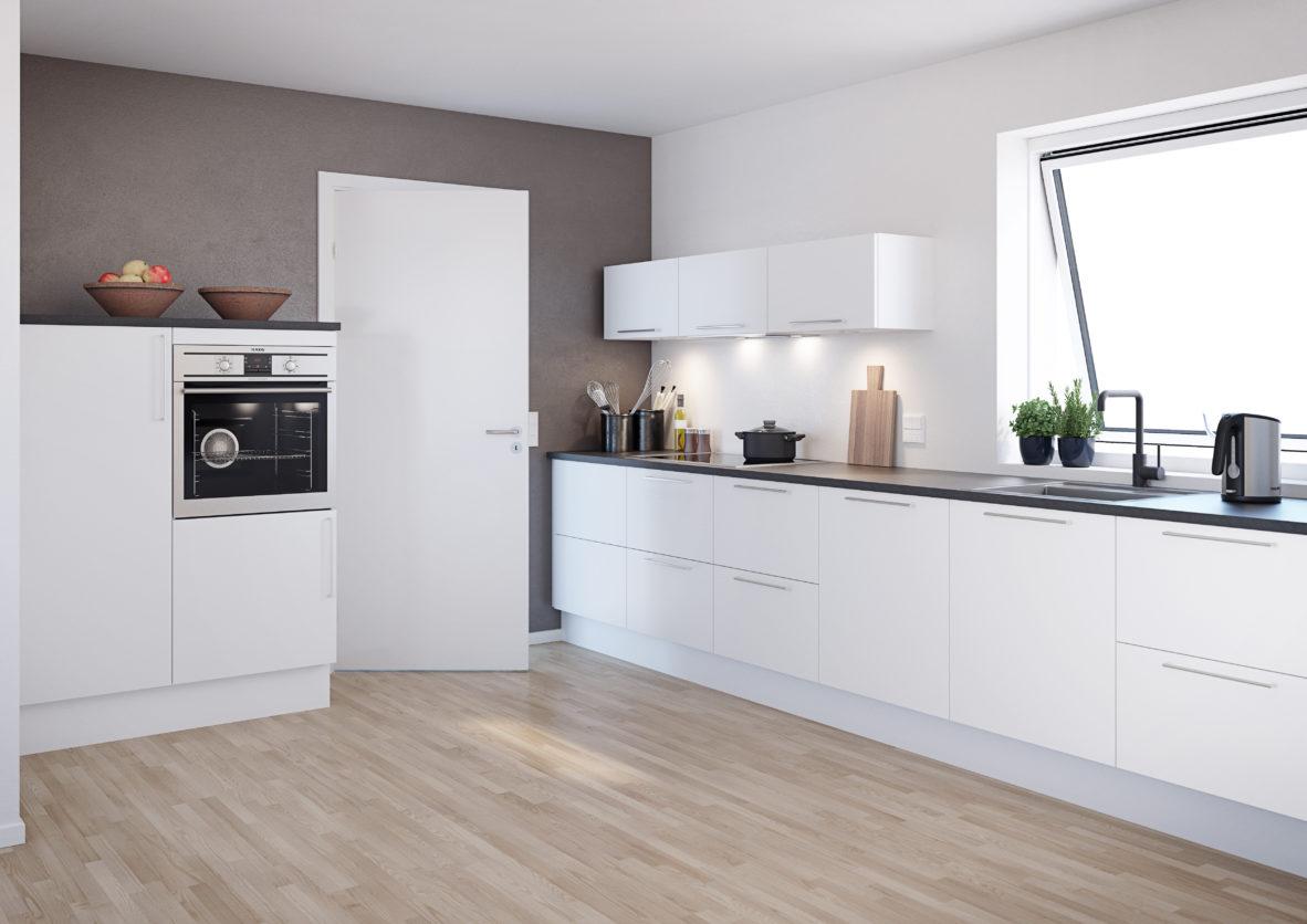 Vione Hvit er et kjøkken fra Nettoline